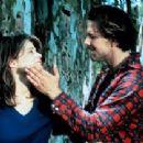Linda Hamilton and Mickey Rourke