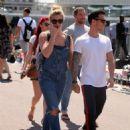 Gemma Atkinson and boyfriend Gorka Marquez out in Barcelona - 454 x 696