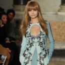 Cara Delevingne walks the runway at the Emilio Pucci fashion show as part of Milan Fashion Week Womenswear Fall/Winter 2013/14 on February 23, 2013 in Milan, Italy