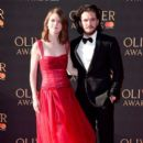 Rose Leslie and Kit Harington : The Olivier Awards 2017 - 393 x 600
