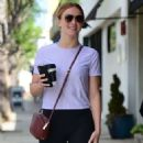 Julianne Hough out and about in Los Angeles - 454 x 930