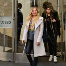 Avril Lavigne and Phillip Sarofim – Leaving SiriusXM Radio in New York City - 454 x 568