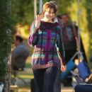 Shailene Woodley – Filming the upcoming Drake Doremus movie in LA