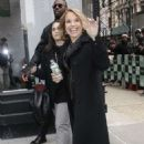Katie Couric – Arrives at The View in New York