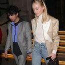 Sophie Turner and Joe Jonas at The Arts Club in London
