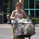 Hilary Duff in Long Summer Dress – Shopping in Studio City