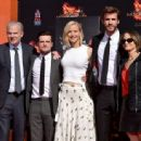 Liam Hemsworth-October 31, 2015-Stars from Lionsgate's 'The Hunger Games: Mockingjay - Part 2' Hand and Footprint Ceremony