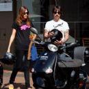 Anthony Kiedis and Nika (Model) - 454 x 407