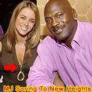 Michael Jordan and Yvette Prieto - 257 x 267