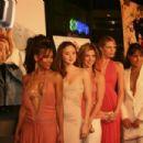 D.E.B.S. casts Meagan Good, Devon Aoki, Sara Foster, Jill Ritchie and Jordana Brewster.