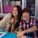 Jake Short and Paris Berelc