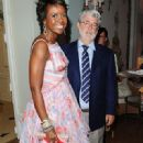 George Lucas and Mellody Hobson - 320 x 480