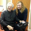 Dave Mustaine met with legendary violinist, Itzhak Perlman, and watched him perform at the San Diego Symphony on Sunday, January 12, 2014.