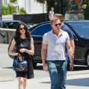 Daniel Craig and Rachel Weisz at Maxfield LA