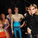 Seal And Heidi Klum Meet Cast Of Priscilla Backstage At Palace Theatre