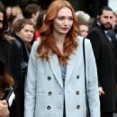 Eleanor Tomlinson – Topshop Unique Show at 2017 LFW in London February 19, 2017 - 454 x 664
