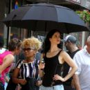 Krysten Ritter – On set of 'Jessica Jones' in New York - 454 x 592