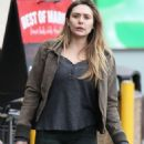 Elizabeth Olsen in Tights – Out in LA 1/15/ 2017 - 454 x 664