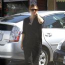 Drew Barrymore: leaving Poquito Mas in Studio City