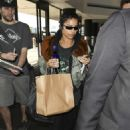 Zoe Kravitz at LAX International Airport in Los Angeles