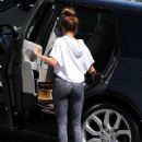 Ashley Tisdale is spotted at a gym for a workout in West Hollywood, California on March 24, 2017 - 453 x 600