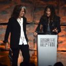 Aerosmith attends The Songwriters Hall Of Fame 44th annual Induction at the NY Marriott Marquis on June 13, 2013 - 454 x 324