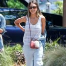 Jessica Alba Out and About In Malibu