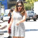 Kelly Brook Out In West Hollywood