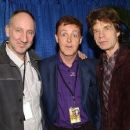 Pete Townshend, Paul McCartney and Mick Jagger