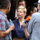 Michelle Williams at the 'After The Wedding' set in Manhattan - 454 x 720
