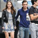 Ed Westwick and Leighton Meester - 454 x 682