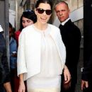 Jessica Biel's Paris Fashion Week Appearance