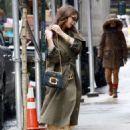 Emily Ratajkowski out in NYC