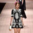 Barbara Palvin – Dolce & Gabbana Runway Show in Milan