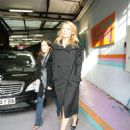 Claire Danes - Leaving The 'This Morning' Studios In London, 2009-11-19