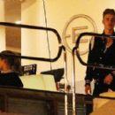 Alyssa Arce and Justin Bieber Thursday July 31, 2014 Ibiza, Spain