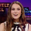 Keira Knightley - The Late Late Show with James Corden