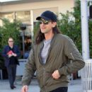 Adrien Brody spotted in Beverly Hills, California on February 14, 2017. Adrien was with a friend having lunch at Ebaldi restaurant - 454 x 557