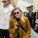 Chloe Moretz – Leaving Plaza Athenee hotel in Paris