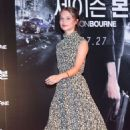 Alicia Vikander – 'Jason Bourne' Photocall in Seoul