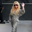Jessica Simpson – Arrives at Jimmy Kimmel Live in Los Angeles