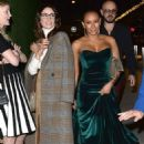 Melanie Brown and Abigail Spencer – Leaving NBC Universal event in West Hollywood