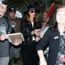 Brooke Shields seen at LAX - 396 x 594