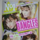 Susanna Hoffs, Michael Steele - No1 Magazine Cover [United Kingdom] (3 May 1986)