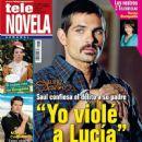 Ferdinando Valencia, La fuerza del destino - Tele Novela Magazine Cover [Spain] (2 January 2012)