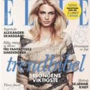Elle Magazine Cover [Norway] (March 2012)