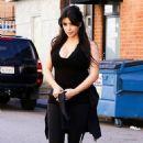 Kim Kardashian: go early for a workout in Studio City