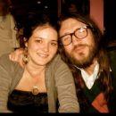 John Frusciante and Nicole Turley - 454 x 375