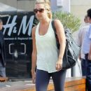 Ashley Tisdale's West Coast Workout