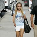 Hayden Panettiere - On The Set Of Heroes 2007-08-02